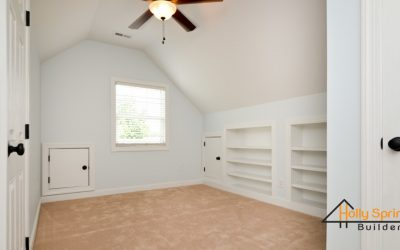 Custom Finished Attic - Office