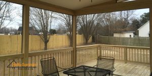 Screened Deck