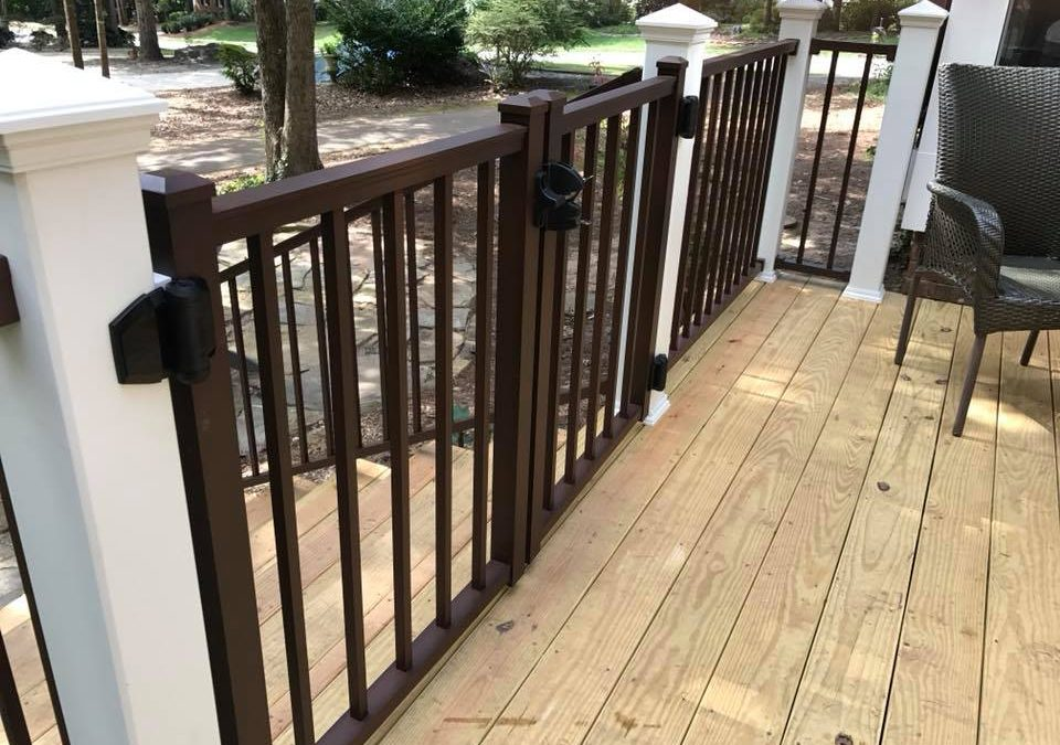 Railings for Your Custom Deck – So Many Types