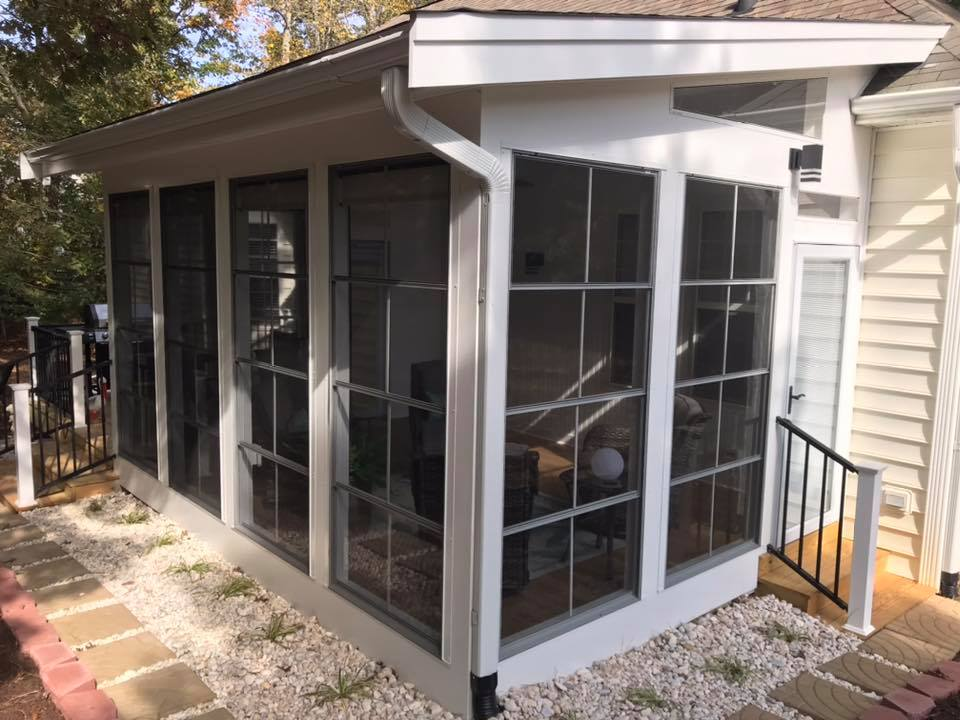 Custom Enclosed Patio