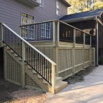 Inside and Outside Deck - Home Improvement