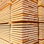 Stacked Lumber - Lumber Yard